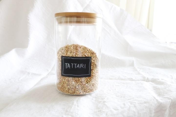 Fermentoitu tattarileipä