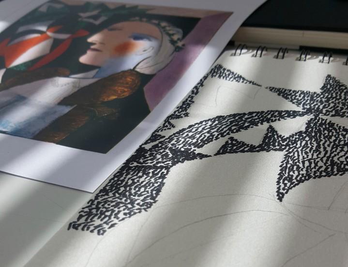 Picasson tiellä