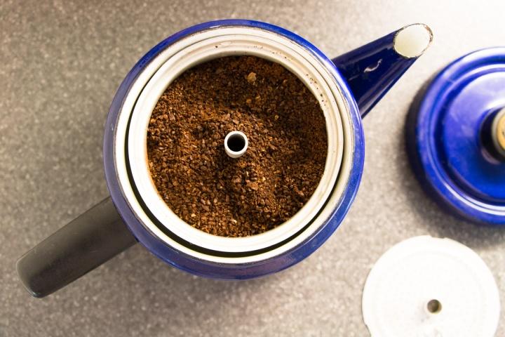 Kahavia Pehtoori-kahvipannulla