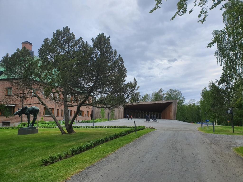 Serlachiuksen Gösta-museo ja Paviljonki